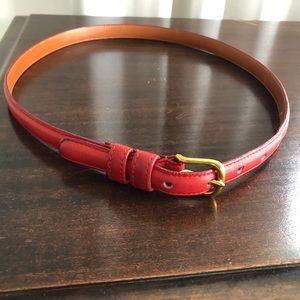 Coach Red Belt